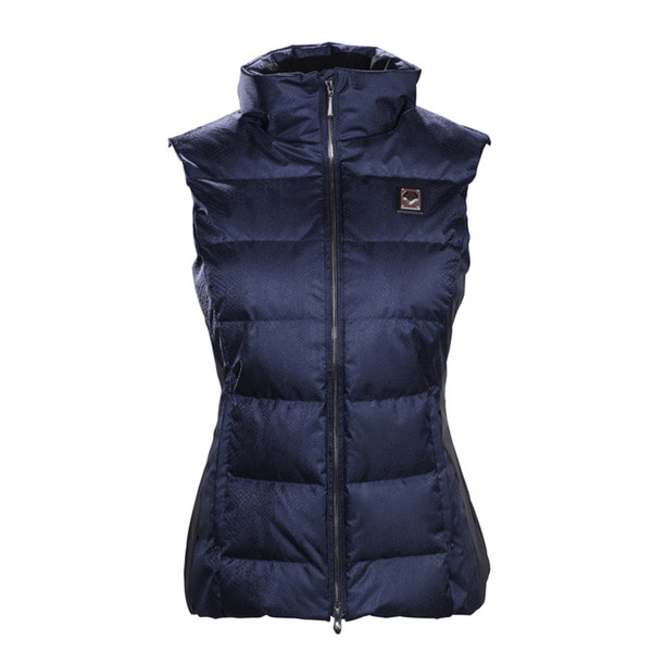 데상트 스키복 1718 DESCENTE D8-9703 ISLA WOMEN DOWN VEST DNT/BK
