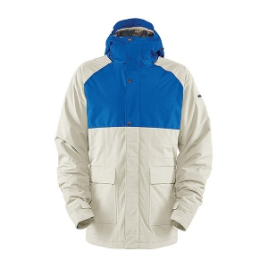 본파이어 보드복 BONFIRE M ASPECT JKT SAND/TRUE BLUE 보드자켓