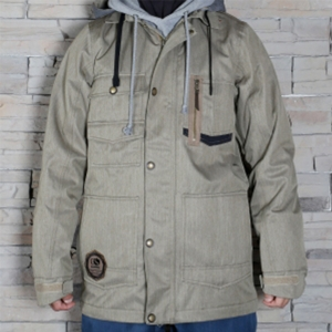 본파이어 보드복 14/15 BONFIRE M UTILITY JACKET B DENIM CANVAS 보드자켓