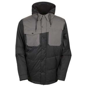 686 보드복 1516 686 AUTHENTIC Woodland Insulated Jacket-Black Herringbone 686보드자켓