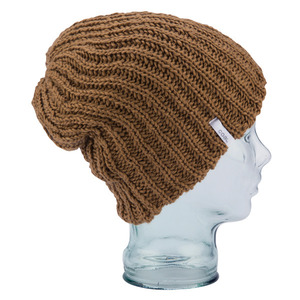 비니 COAL THE THRIFT KNIT - Light Brown