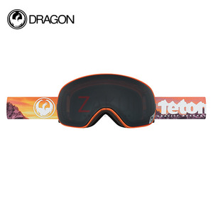 드래곤 APX 스노우 보드고글 1617 DRAGON X2S TGR COLLABO DARK SMOKE