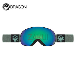 드래곤 APX 스노우 보드고글 1617 DRAGON X2S HONE EMERALD OPTIMIZED FLASH GREEN