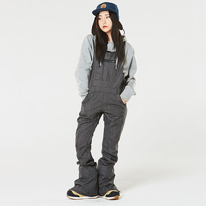 686 보드복 1617 686 WMS Parklan Black Magic Ins. Overall BLACK DENIM