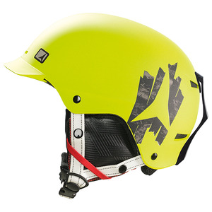아동스키헬멧 ATOMIC TROOP BRIM LIME GREEN