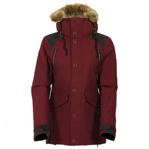 여자보드복 686 Wmn PARKLAN Ceremony Ins. Jacket-Wine Peached Canvas