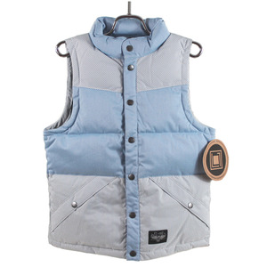 엘원 여자 보드복 L1 SHEENA VEST DENIM CHAMBRAY/DE