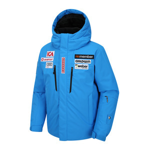 골드윈 아동 스키복 1718 GOLDWIN JUNIOR SKI DOWN JACKET BLUE
