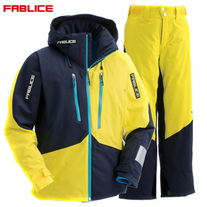 파블리스스키복 1718 FABLICE DEMO JACKET + PANTS NAVY YELLOW