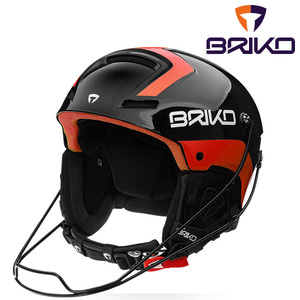 브리코 스키헬멧 1819 SLALOM SHINY BLACK ORANGE