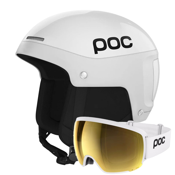 POC SKULL LIGHT 헬멧 + ORB CLARITY 고글 세트