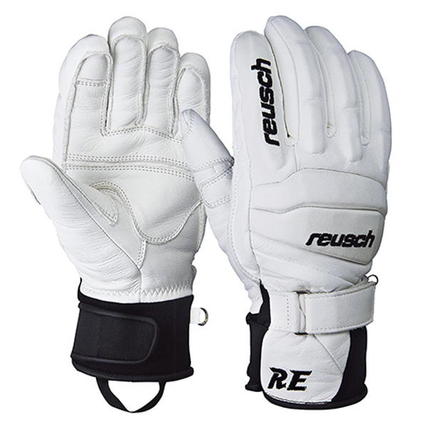 스키장갑 1920 REUSCH RELATION GLOVE WHITE BLACK