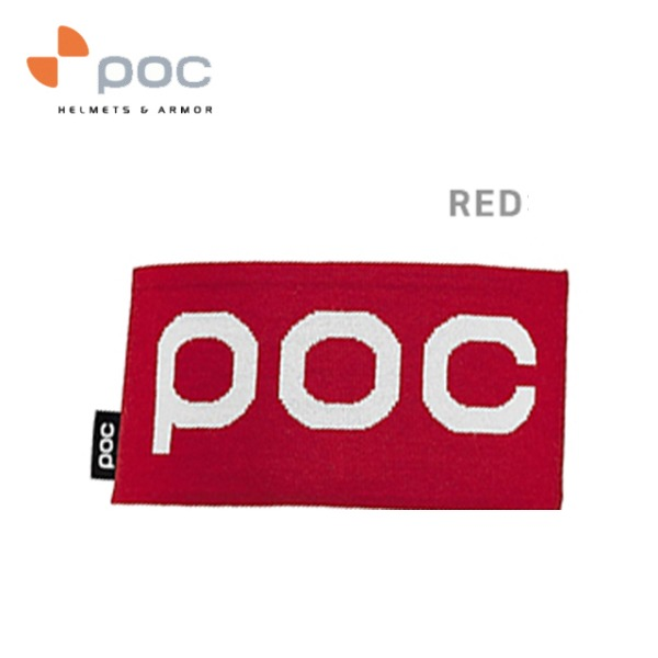 POC CORP HEADBAND RED