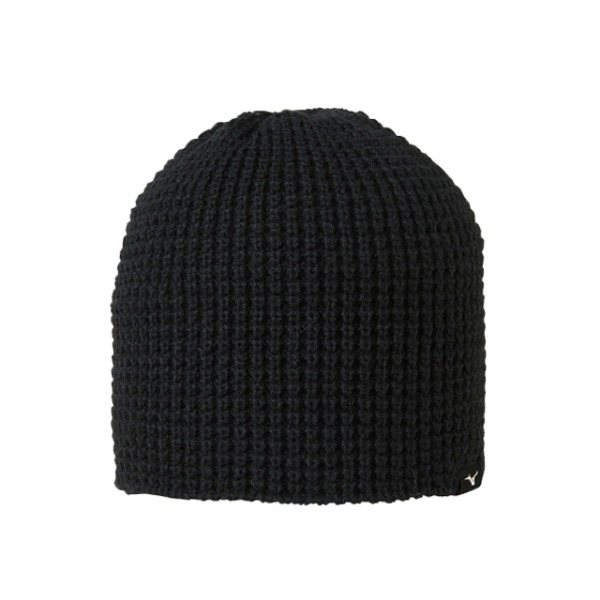 미즈노 스키비니 1819 MIZUNO LOW GAUGE KNIT CAP BLACK