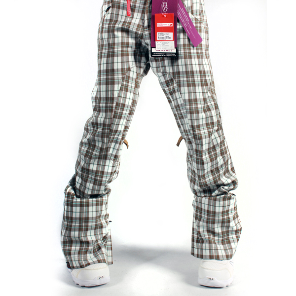 여자보드복바지 BONFIRE W HEAVENLY PNT PLAID SILK