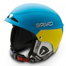 스키헬멧,브리코헬멧 1516 BRIKO SNOWY-MATT LIGHT BLUE MATT YELLOW
