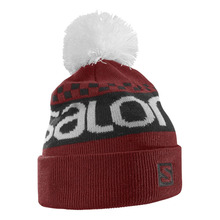 살로몬 비니 SALOMON FREE BEANIE BRIQUE-X/BLACK/White