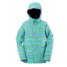 여자보드자켓 BONFIRE W ESSENCE JKT DEEP MINT