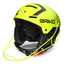 1718 브리코 스키 헬멧 SLALOM YELLOW FLUO BLACK