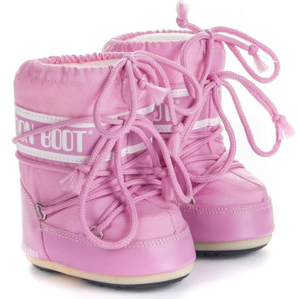 아동 문부츠 MOON BOOT MINI NYLON PINK