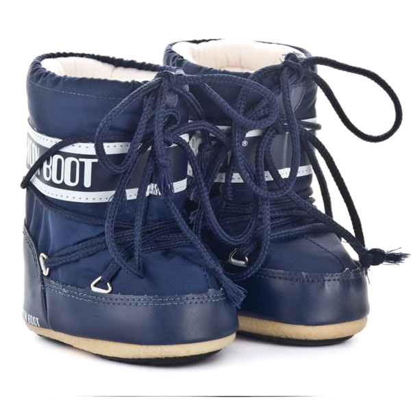 아동 문부츠 MOON BOOT MINI NYLON BLUE