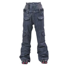 보드복 BONFIRE W ESSENCE PNT MARINE DENIM 여자보드바지